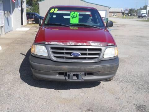 2002 Ford F-150 for sale at Shaw Motor Sales in Kalkaska MI