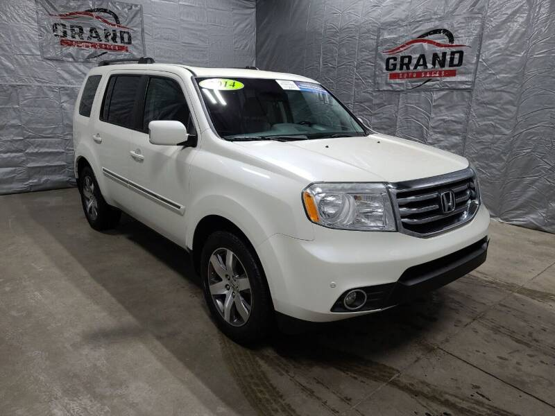 2014 Honda Pilot for sale at GRAND AUTO SALES in Grand Island NE