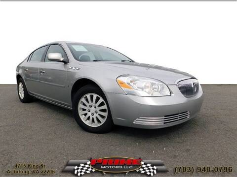 2007 Buick Lucerne for sale at PRIME MOTORS LLC in Arlington VA