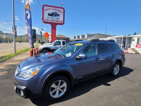 2013 Subaru Outback for sale at Ford's Auto Sales in Kingsport TN