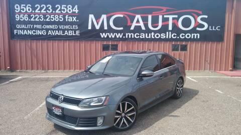 2013 Volkswagen Jetta for sale at MC Autos LLC in Pharr TX