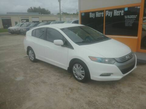 2011 Honda Insight for sale at QUALITY AUTO SALES OF FLORIDA in New Port Richey FL