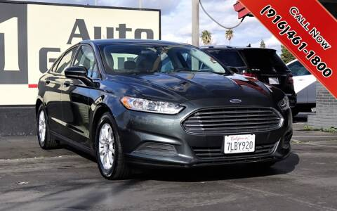 2015 Ford Fusion for sale at H1 Auto Group in Sacramento CA
