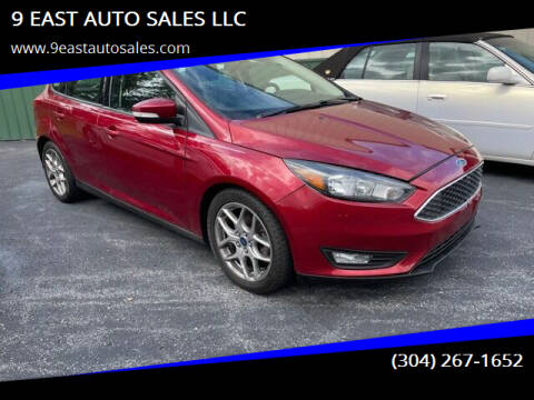 2015 Ford Focus for sale at 9 EAST AUTO SALES LLC in Martinsburg WV
