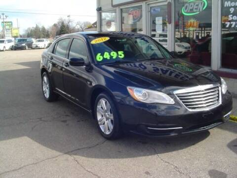 2012 Chrysler 200 for sale at G & L Auto Sales Inc in Roseville MI