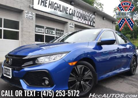 2018 Honda Civic for sale at The Highline Car Connection in Waterbury CT