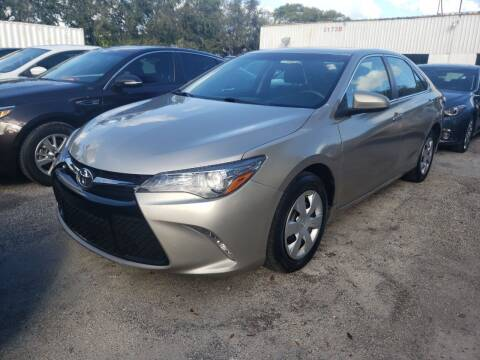 2017 Toyota Camry for sale at Bargain Auto Sales in West Palm Beach FL