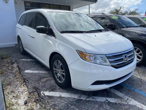 2013 Honda Odyssey for sale at Mike Auto Sales in West Palm Beach FL
