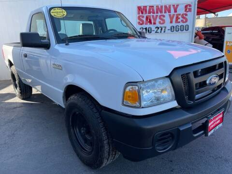 2011 Ford Ranger for sale at Manny G Motors in San Antonio TX
