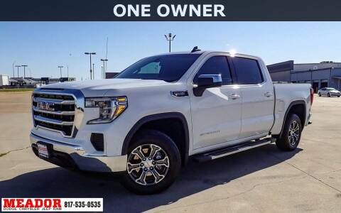 2020 GMC Sierra 1500 for sale at Meador Dodge Chrysler Jeep RAM in Fort Worth TX