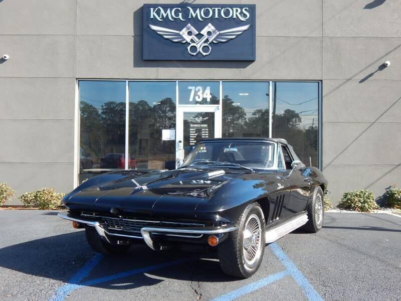 1966 Chevrolet Corvette for sale at KMG Motors in Slidell LA