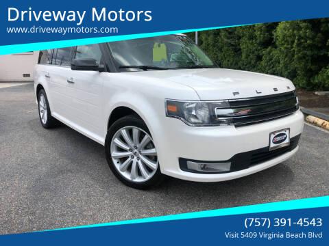 2015 Ford Flex for sale at Driveway Motors in Virginia Beach VA