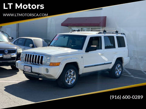 2007 Jeep Commander for sale at LT Motors in Rancho Cordova CA