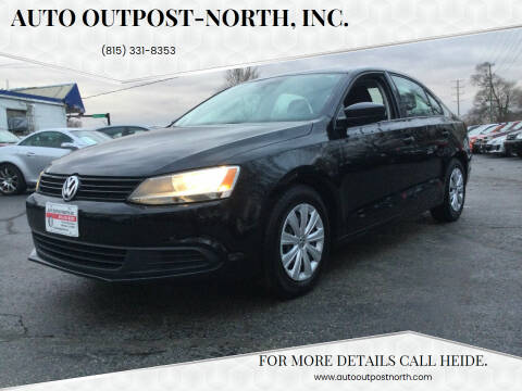 2014 Volkswagen Jetta for sale at Auto Outpost-North, Inc. in McHenry IL