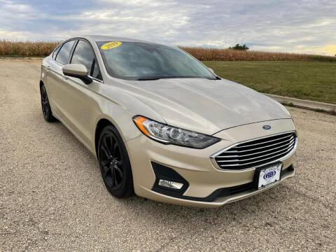 2019 Ford Fusion for sale at Alan Browne Chevy in Genoa IL