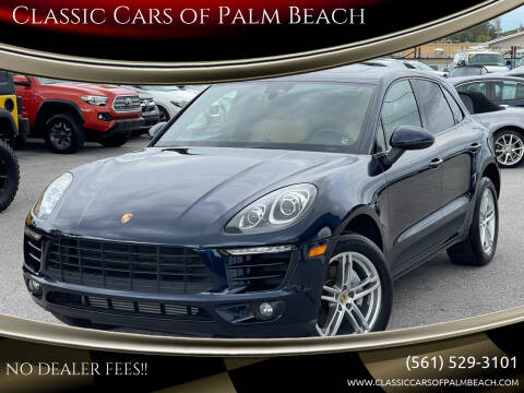 2017 Porsche Macan for sale at Classic Cars of Palm Beach in Jupiter FL