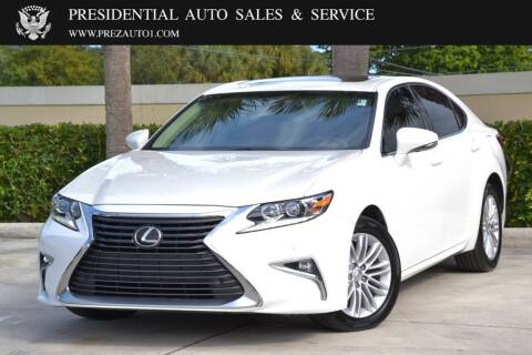 2017 Lexus ES 350 for sale at Presidential Auto  Sales & Service in Delray Beach FL