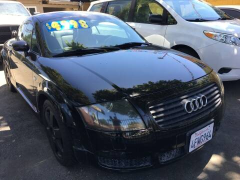 2000 Audi TT for sale at MK Auto Wholesale in San Jose CA