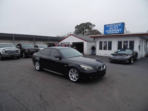 2008 BMW 5 Series for sale at Surfside Auto Company in Norfolk VA