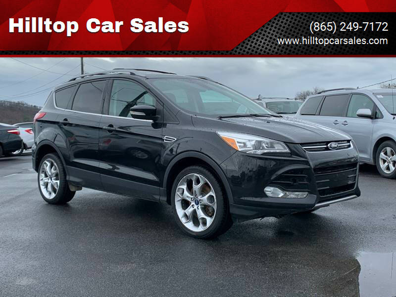 2013 Ford Escape for sale at Hilltop Car Sales in Knox TN