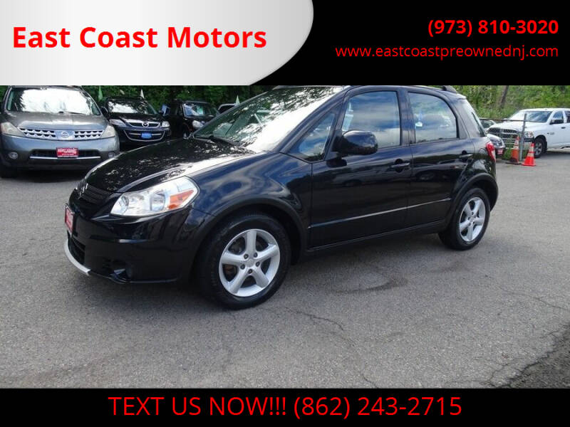 2008 Suzuki SX4 Crossover for sale at East Coast Motors in Lake Hopatcong NJ