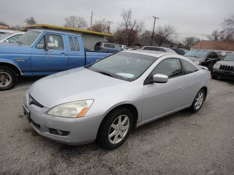2003 Honda Accord for sale at Rhima Motor Company, Inc. in Haltom City TX