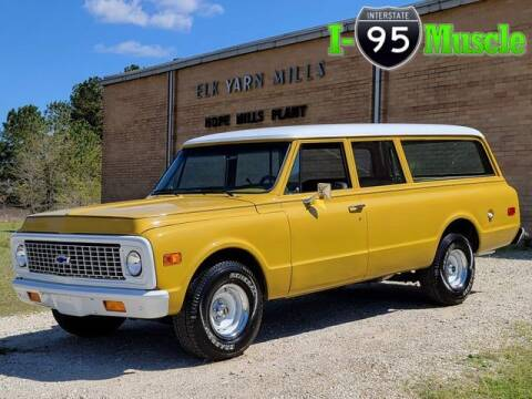 1972 Chevrolet Suburban for sale at I-95 Muscle in Hope Mills NC