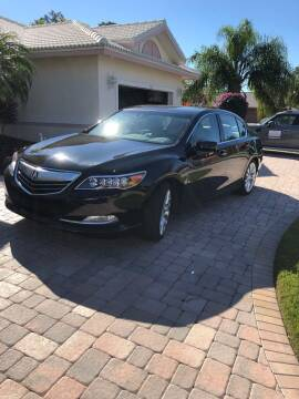 2014 Acura RLX for sale at Bcar Inc. in Fort Myers FL