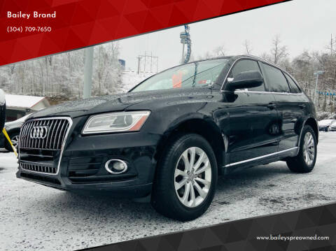 2013 Audi Q5 for sale at Bailey's Pre-Owned Autos in Anmoore WV