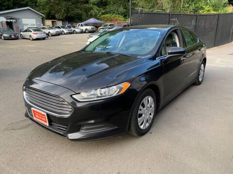 2014 Ford Fusion for sale at C&D Auto Sales Center in Kent WA
