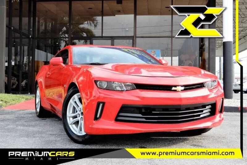 2016 Chevrolet Camaro for sale at Premium Cars of Miami in Miami FL