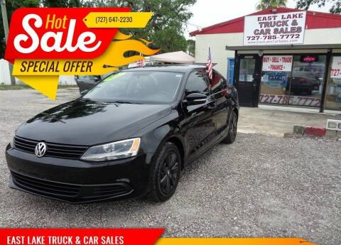 2012 Volkswagen Jetta for sale at EAST LAKE TRUCK & CAR SALES in Holiday FL