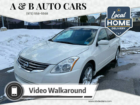 2011 Nissan Altima for sale at A & B Auto Cars in Newark NJ