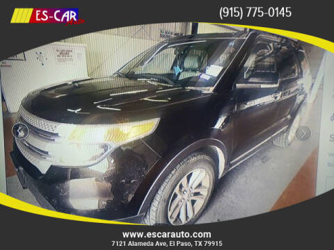 2013 Ford Explorer for sale at Escar Auto in El Paso TX
