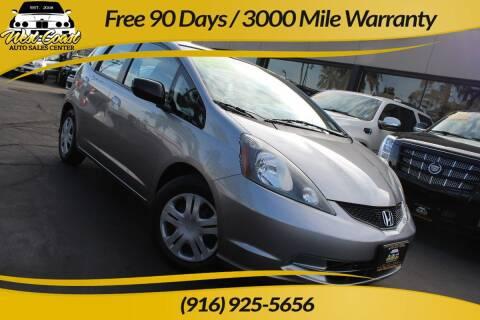 2009 Honda Fit for sale at West Coast Auto Sales Center in Sacramento CA