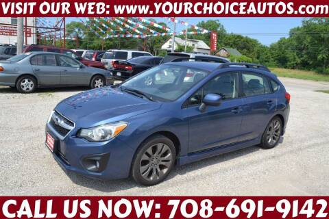 2013 Subaru Impreza for sale at Your Choice Autos - Crestwood in Crestwood IL