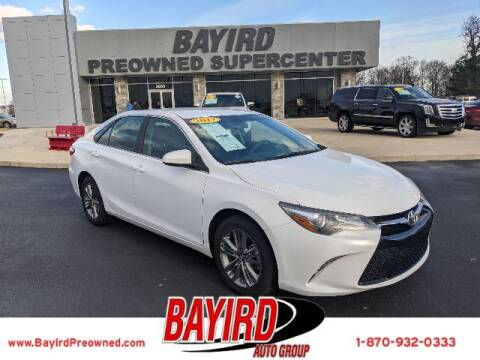 2017 Toyota Camry for sale at Bayird Truck Center in Paragould AR