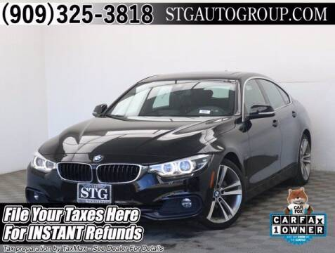 2019 BMW 4 Series for sale at STG Auto Group in Montclair CA