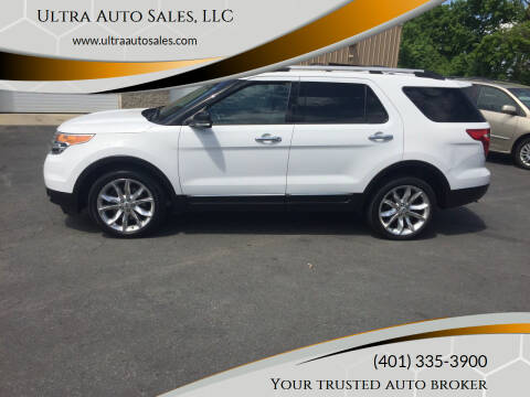 2013 Ford Explorer for sale at Ultra Auto Sales, LLC in Cumberland RI