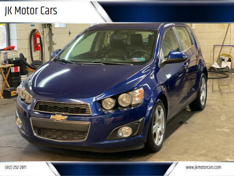 2014 Chevrolet Sonic for sale at JK Motor Cars in Pittsburgh PA