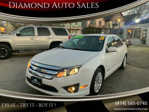2011 Ford Fusion Hybrid for sale at Diamond Auto Sales in Milwaukee WI