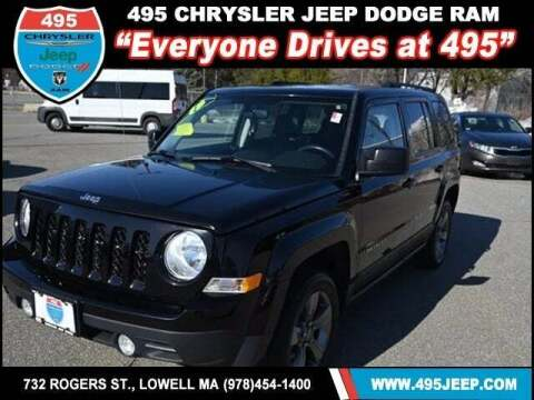 2015 Jeep Patriot for sale at 495 Chrysler Jeep Dodge Ram in Lowell MA