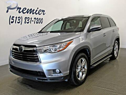 2015 Toyota Highlander for sale at Premier Automotive Group in Milford OH