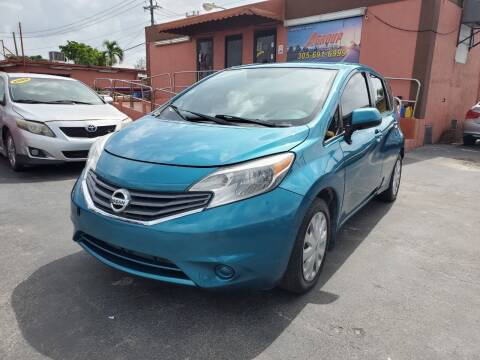 2014 Nissan Versa Note for sale at A Group Auto Brokers LLc in Opa-Locka FL