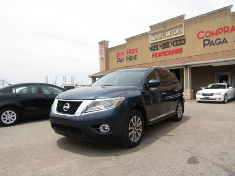 2014 Nissan Pathfinder for sale at Import Motors in Bethany OK