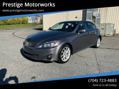 2012 Lexus IS 250 for sale at Prestige Motorworks in Concord NC