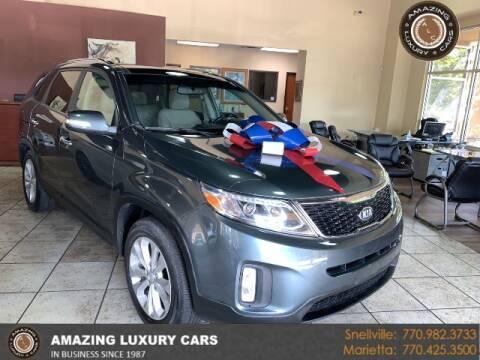 2014 Kia Sorento for sale at Amazing Luxury Cars in Snellville GA