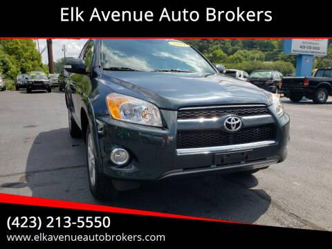 2011 Toyota RAV4 for sale at Elk Avenue Auto Brokers in Elizabethton TN
