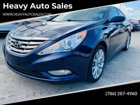 2013 Hyundai Sonata for sale at Heavy Auto Sales in Miami FL