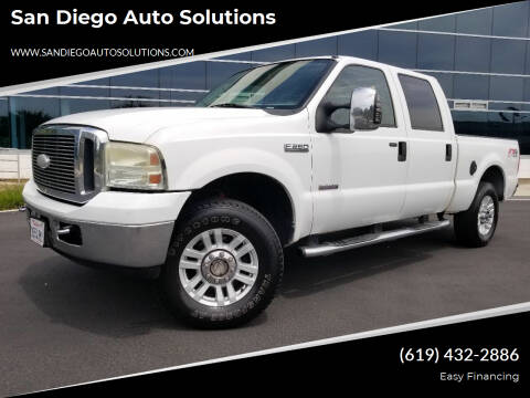 2006 Ford F-250 Super Duty for sale at San Diego Auto Solutions in Escondido CA